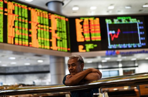 Pasar Saham Tiongkok Melambung