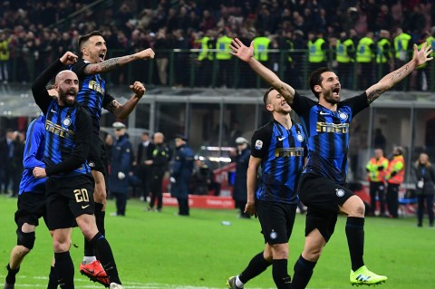 Inter Tekuk Milan 3-2 pada Laga Derbi di Liga Italia