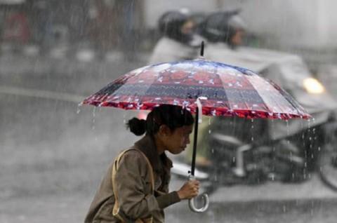 Ibu Kota Berpotensi Diguyur Hujan