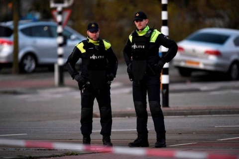 Polisi Belanda Tangkap Pelaku Penembakan Utrecht