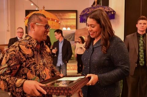 Wali Kota San Francisco Apresiasi Indonesia di Resepsi Bisnis Global