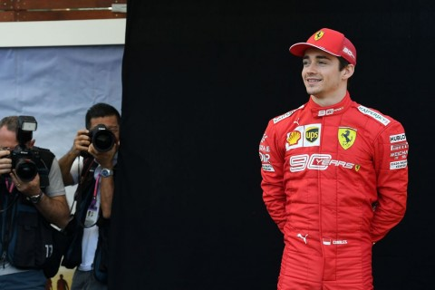 Debut Charles Leclerc di Ferrari Tuai Pujian