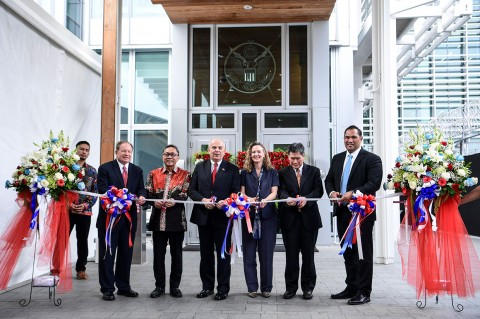 Gedung Baru Kedubes AS di Jakarta Diresmikan