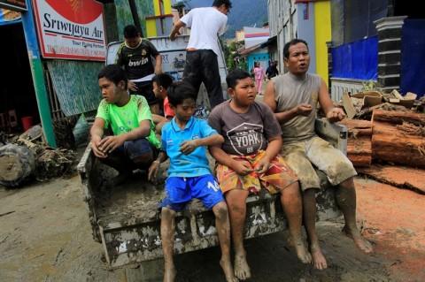 Pengungsi Banjir Bandang di Jayapura Bertambah 3000 Orang