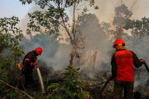 Riau Dikepung 156 Titik Panas