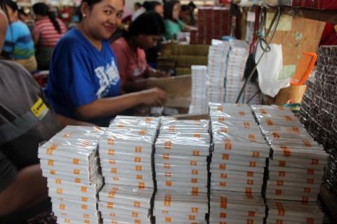 Penerimaan Cukai Rokok Naik hingga Rp9,43 Triliun
