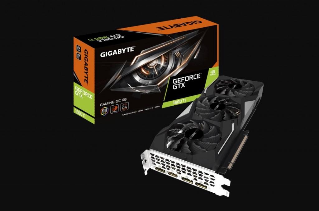 Gigabyte GeForce GTX 1660 Gaming OC 6G.