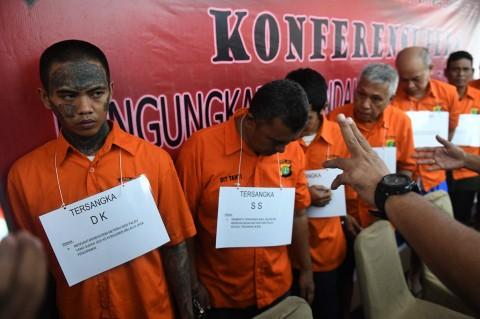 Polda Metro Jaya Bekuk 9 Komplotan Pemalsu Materai