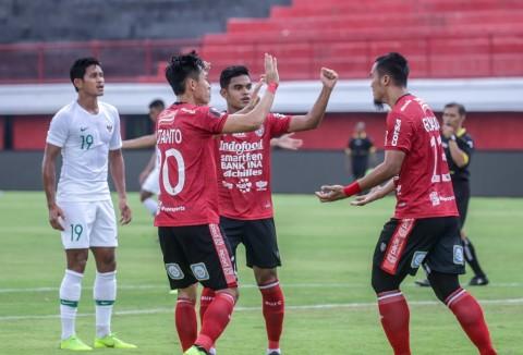 Timnas Indonesia Gagal Menang atas Bali United