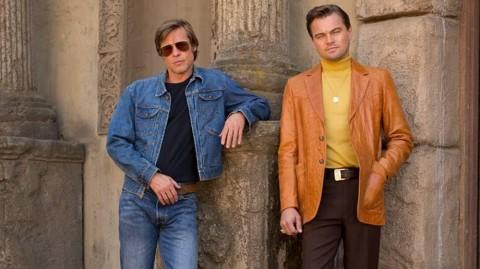Aksi Brad Pitt dan Leonardo DiCaprio di Teaser Film Once Upon A Time In Hollywood