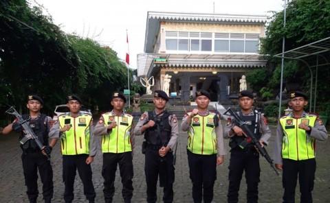 Mukernas PPP Dikawal Ratusan Polisi