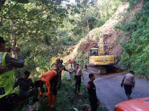 Tebing Piket Nol Longsor, Jalur Lumajang-Malang Putus Total