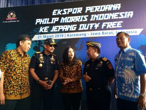 Philip Morris Indonesia Ekspor 9 Juta Batang Rokok ke Jepang
