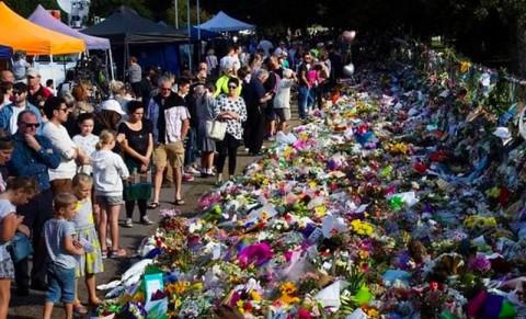 Doa Bersama untuk Peringati Seminggu Penembakan Selandia Baru