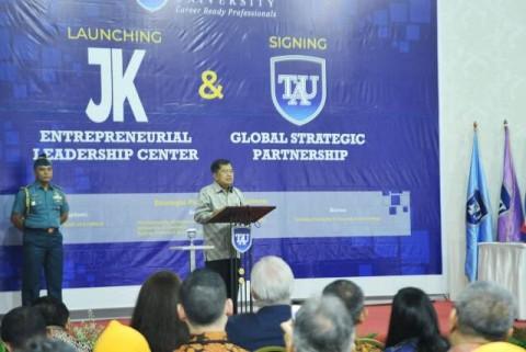 Wapres Meresmikan JK<i> Entrepreneurial Leadership Centre</i>