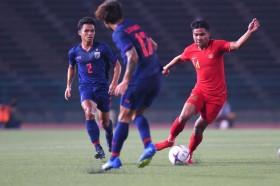 Head to Head Thailand U-23 vs Indonesia U-23