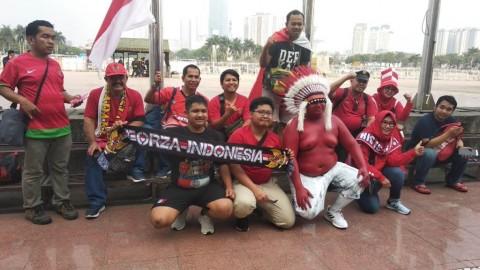 Suporter Indonesia Mulai Padati Stadion My Dinh