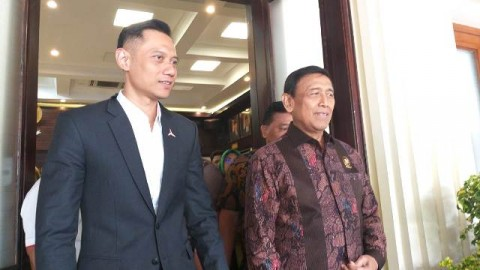 Wiranto, AHY Hold Meeting