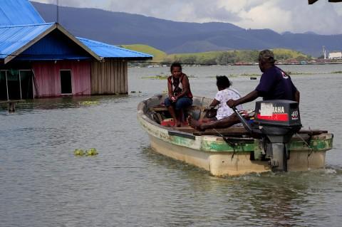 Banjir Rendam 25 Kampung di Sentani