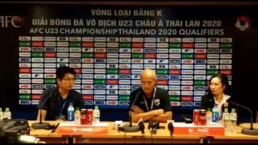Pelatih Thailand Tidak Terkejut Timnya Menang Besar