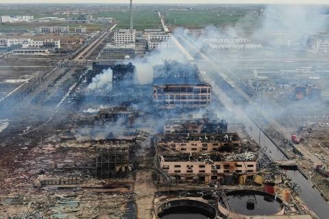 47 Orang Tewas Akibat Ledakan Pabrik Kimia di Tiongkok