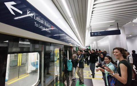 Kehadiran Ojol di Stasiun MRT Bakal Diperhatikan