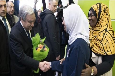 Sekjen PBB Sebut Masjid Seharusnya Jadi Tempat Aman