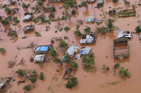 Korban Tewas Siklon Idai Lampaui 700 Orang