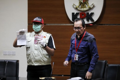 Satu Tersangka Kasus Suap Krakatau Steel Buron