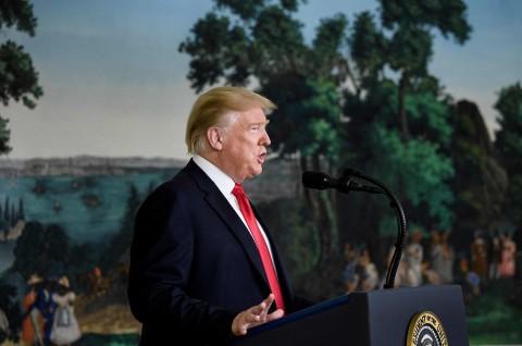 Trump Sambut Baik Kekalahan ISIS di Suriah