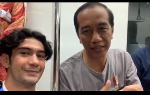 MRT Jakarta Diresmikan, Reza Rahadian <i>Nge-Vlog</i> Bareng Jokowi