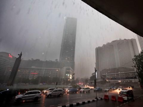 Awal Pekan, Hujan Diprediksi Guyur Jakarta