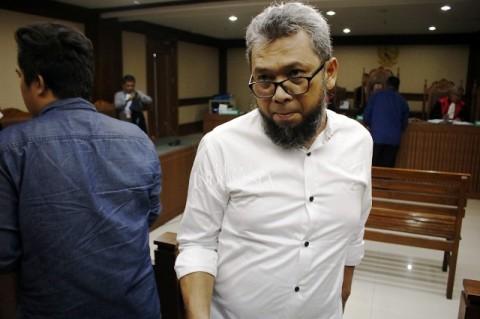 Mantan Anggota DPRD Sumut Didakwa Terima Rp772 Juta