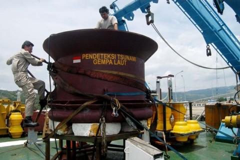 BMKG Kembali Uji Coba Sirine Tsunami di Cilacap