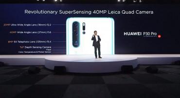 Huawei P30 Pro Muncul, Coba Dobrak Pakem Fotografi Ponsel