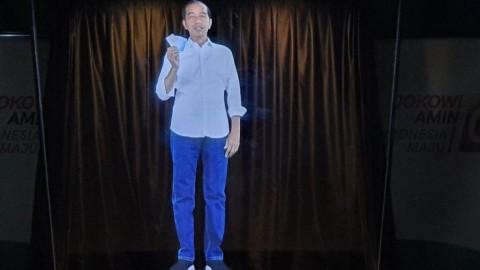 Hologram Jokowi-Ma'ruf Dinilai Sebagai Terobosan Cerdas