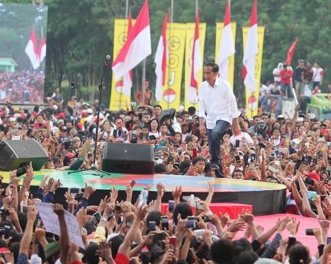 Jokowi Optimistis Dapat Merebut Hati Masyarakat Riau