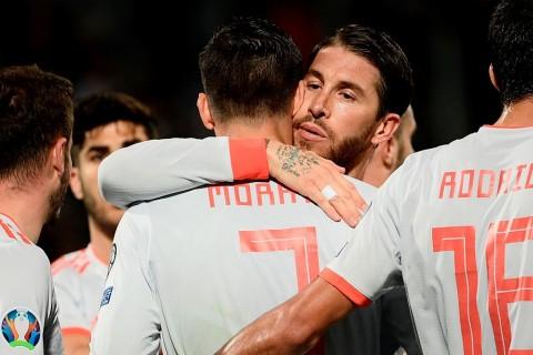 Spanyol Persembahkan Kemenangan atas Malta untuk Enrique