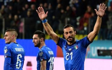 Ketika Quagliarella Ciptakan Rekor Bersama Timnas Italia