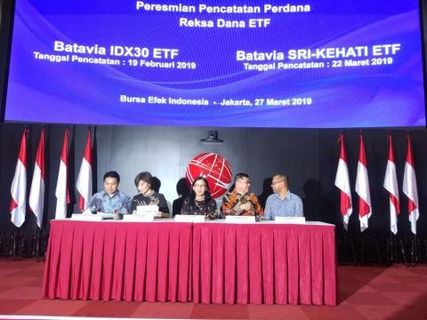 Batavia Gandeng Mandiri Sekuritas Terbitkan ETF