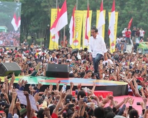 Jokowi Promosi Kopi Saat Berkunjung ke Riau