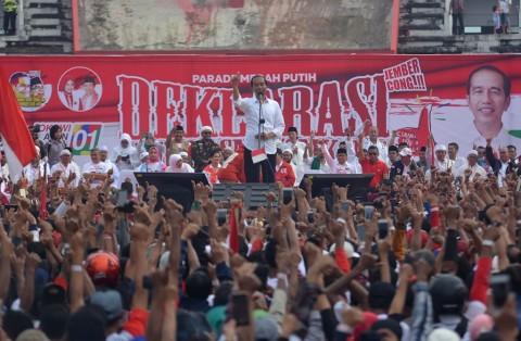 Jokowi Minta Jaga Kemenangan dengan Datang ke TPS