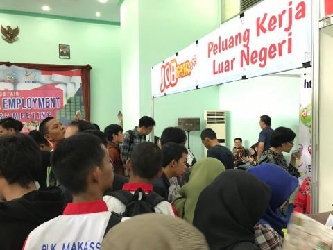 Perusahaan Malaysia Sediakan Ribuan Lowongan Kerja di Job Fair Makassar