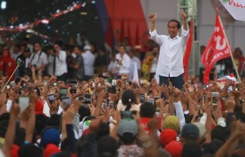 Jokowi Ajak Warga Banjarmasin Jadi Benteng Penangkal Hoaks