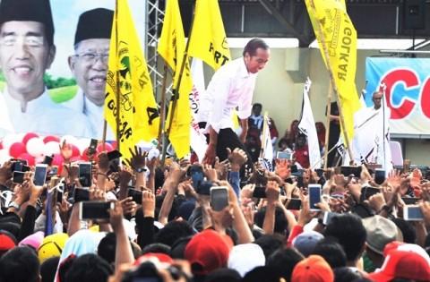 Jokowi Gelar Kampanye Terbuka di Balikpapan