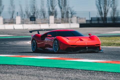 Ferrari P80/C Anut Gaya Mobil Balap Prototipe
