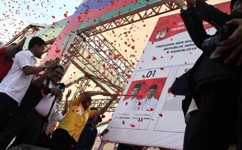 Jokowi-Ma'ruf Amin Masih Unggul