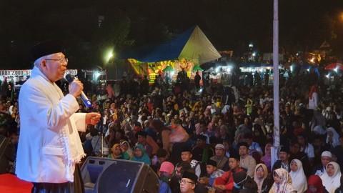 Ma'ruf Hakulyakin Elektabilitas Meroket di Yogyakarta