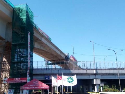 Bentang Panjang JORR Lintas I LRT Jabodebek Terpanjang di Dunia