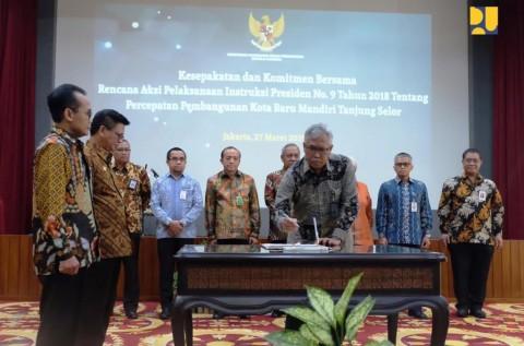 Pembangunan Tanjung Selor sebagai Kota Baru Mandiri Dipercepat